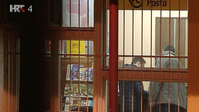 Oružana pljačka poštanskog ureda - markuševac