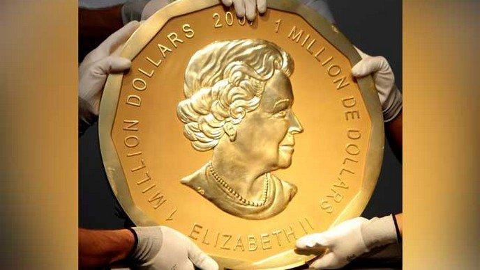 U Berlinu ukraden ukraden zlatnik
