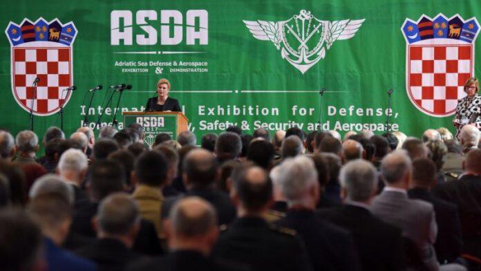 Predsjednica posjetila splitski sajam vojne industrije