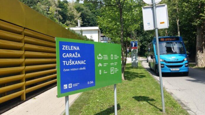 Zagreb dobio prvu zelenu garažu
