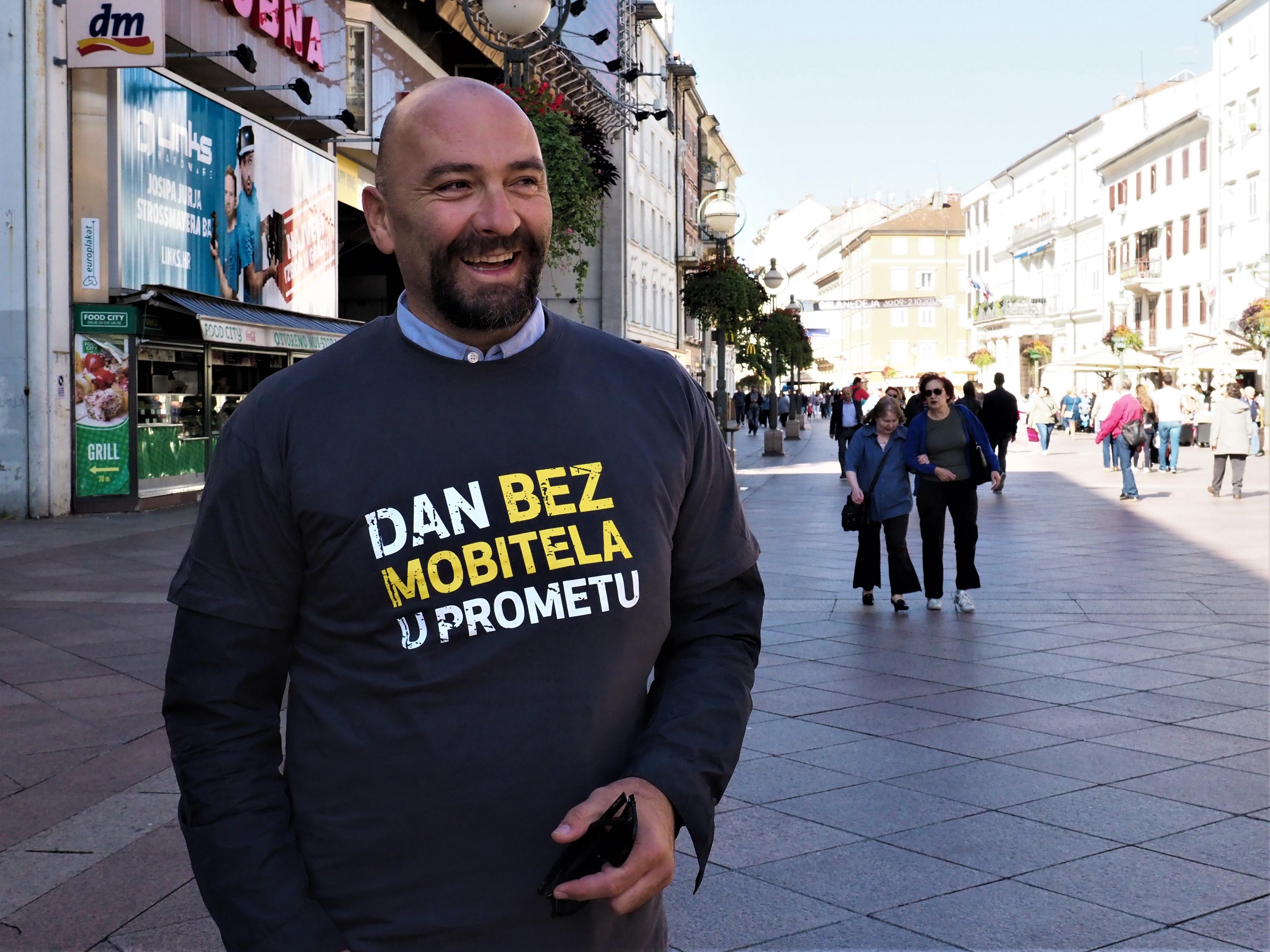 Samir Barać, Riječki sportski savez, RSS, Dan bez mobitela u prometu, Rijeka, kampanja, mobitel, promet