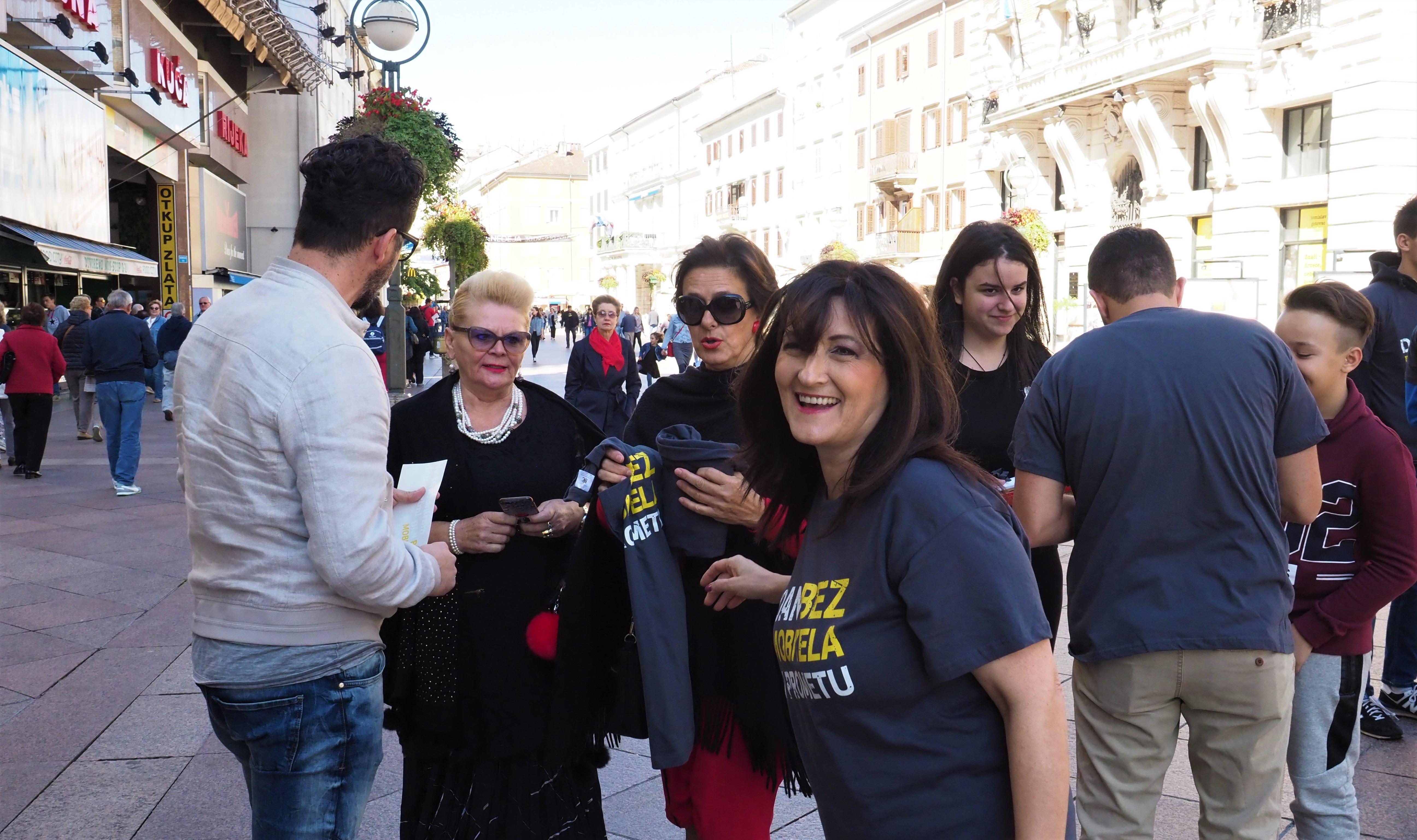 Renata Ivanović, dan bez mobitela u prometu, Rijeka, mobitel, aplikacija, promet, prometne nesreće