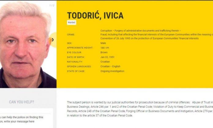 Ivica Todorić na europol-u