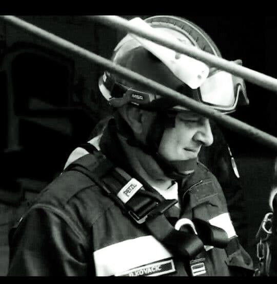 Davor Kovačić - U Zagrebu na intervenciji preminuo vatrogasac