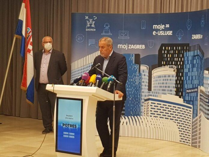 Zagreb bilježi 21 novoobljoljelu osobu COVID-19