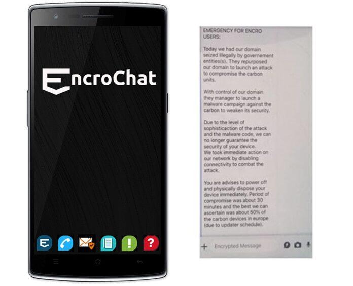 EncroChat, servis koji su masovno koristili kriminalci