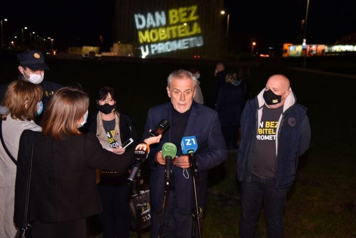 Gradonačelnik Bandić o Danu bez mobitela u prometu