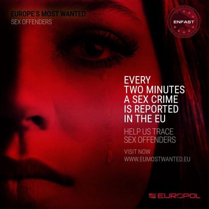 Europol kampanja pronalazak seksualnih prijestupnika