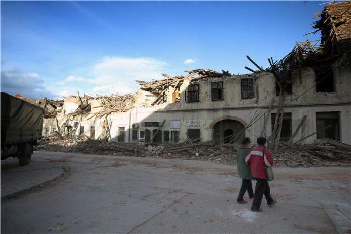 Snažan potres pogodio Petrinju