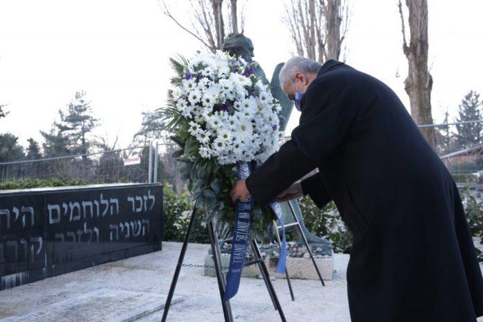 Izaslanstvo Grada Zagreba položilo vijenac za žrtve holokausta