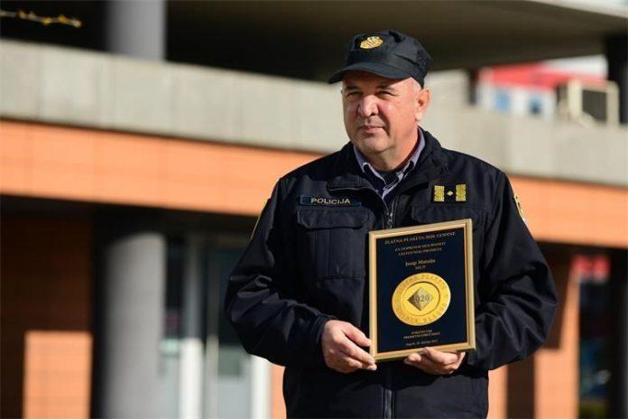 Josip Mataija nagrađen Zlatnom plaketom