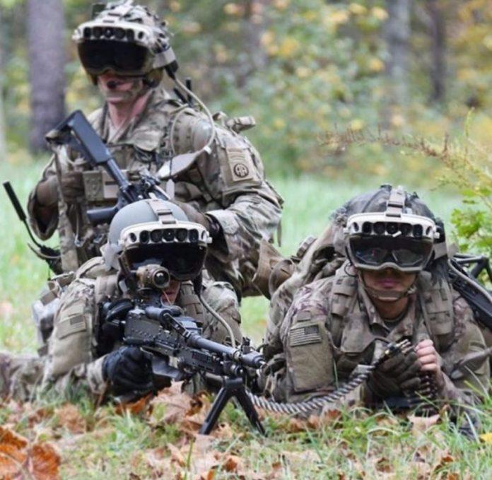Naočale američke vojske -pogled kroz zidove