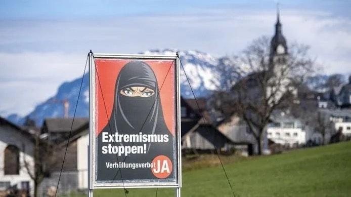 Švicarska izglasala zabranu pokrivanja lica u javnosti