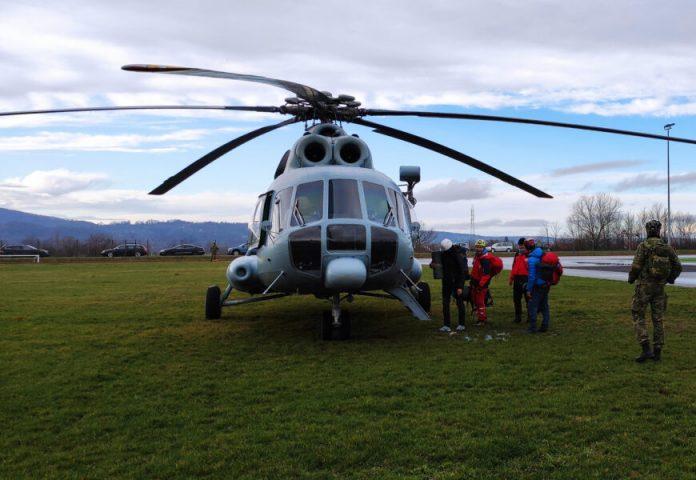 Hitni zračni medicinski prijevoz HRZ-a tijekom uskrsnih blagdana