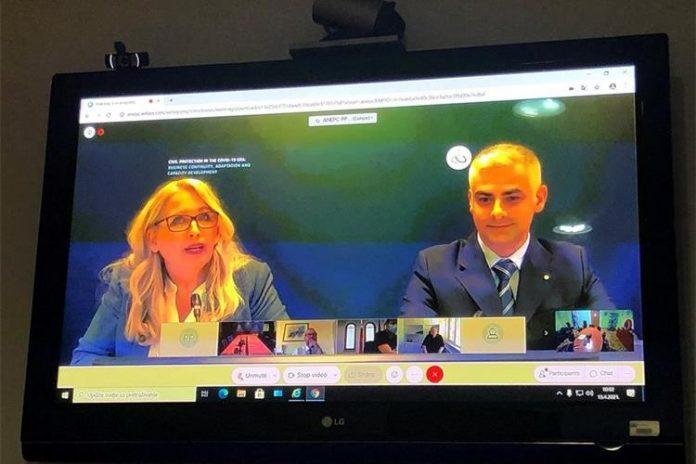 "Počela virtualna tematska radionica na temu ""Civil Protection in the COVID-19 era: Business continuity, adaptation and capacity development"""