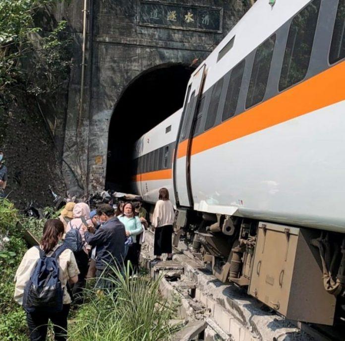 Poginuli u željezničkoj nesreći na Tajvanu