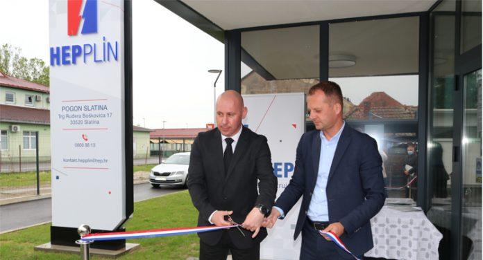HEP Plin otvorio zgradu Pogona Slatina