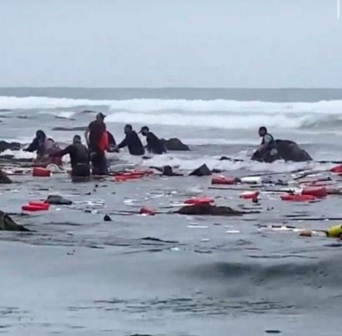 Četvero mrtvih u nesreći migrantskog broda u San Diegu