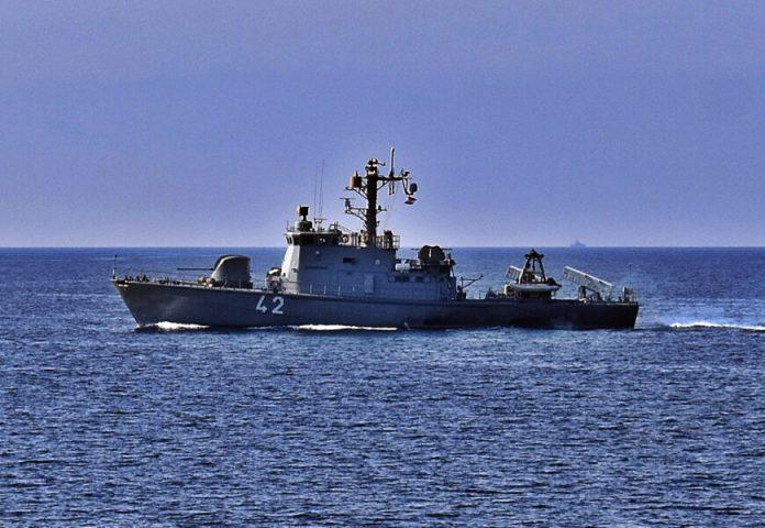 """Brod Hrvatske ratne mornarice u međunarodnoj vježbi """"ADRION 21 LIVEX"""""""