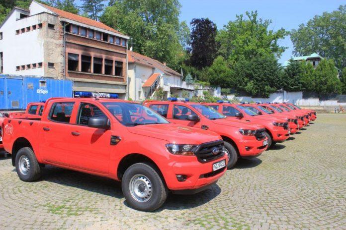 Svečana primopredaja vatrogasnih vozila