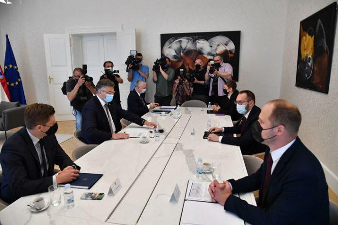 Prvi sastanak Tomaševića i Plenkovića