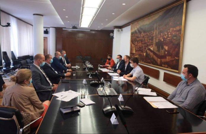 Sastanak gradonačelnika s predsjednikom Uprave HEP-a