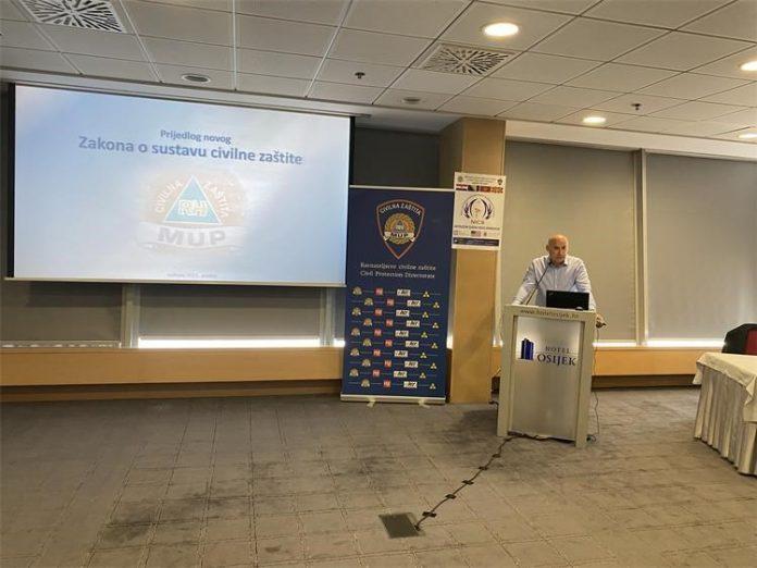 U sklopu edukacije korisnika Zapovjednog sustava nove generacije – NICS predstavljen Zakon o sustavu civilne zaštite