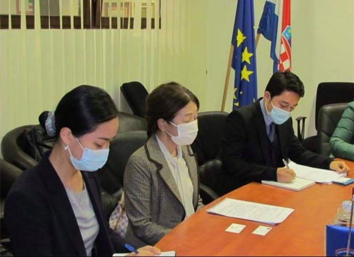 Veleposlanica Japana u nastupnom posjetu Ravnateljstvu civilne zaštite